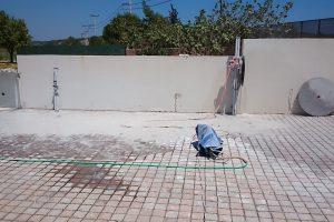 Αφαίρεση τοιχίου για δημιοργία εισόδου με αδιατάρακτη κοπή - Εικόνα.