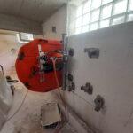 Άνοιγμα εισόδου σε υπόγειο - αδιατάρακτη κοπή